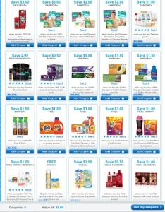 P&G Brandsaver Coupons for March 2013