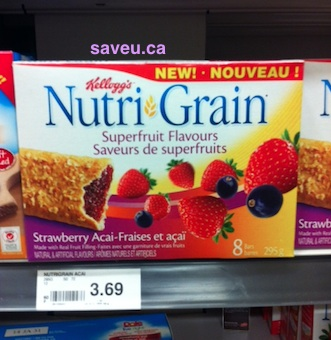 Checkout 51 Kelloggs Nutri-Grain Cereal Bars for Mar 28 - April 3, 2013