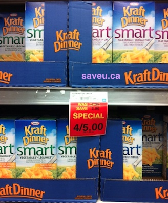 Checkout 51 Kraft Dinner Smart for Apr 25-May 1, 2013