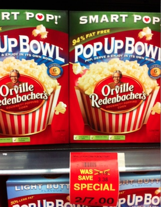 Checkout 51 Orville Redenbacher Popcorn 6 pack cash back rebate - March 21, 2013