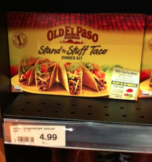 Checkout 51 Old El Paso Dinner Kit - March 2013