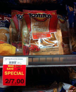 Checkout 51 Tostitos Tortilla Chips Mar 2013