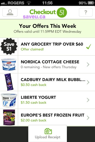 Checkout 51 - 0 Remaining for Nordica cottage cheese - Apr 4-10,2013