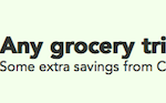 Checkout 51 Any Grocery Trip over $60 Cash Rebate May 9-15, 2013