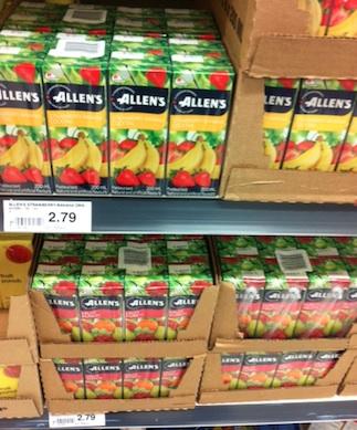 Allen's Juice Cash Rebate at Checkout 51 Apr 11-17, 2013