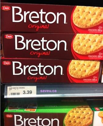 Checkout 51 - Dare Breton Crackers Cash Rebate for Apr 4 - Apr 10, 2013