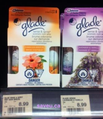 Checkout 51 - Glade Sense & Spray Refill Cash Rebate for April 4 - April 10, 2013