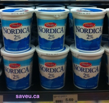 Checkout 51 - Nordica Cottage Cheese 2% Cash Back for Apr 18-24, 2013