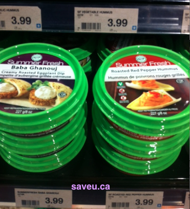 Checkout 51 - Summer Fresh hummus and dips Cash Rebate for Apr  4 - Apr 10, 2013