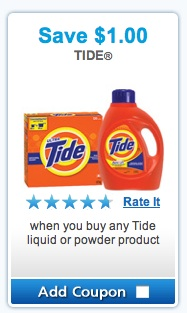 Tide Coupon to Save $1.00 from Brandsaver.ca