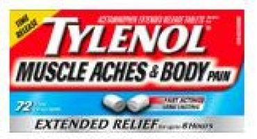 Checkout 51 $2.00 cash back on TYLENOL® Muscle Aches & Body Pain medication.