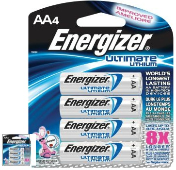 Checkout 51 - Energizer Lithium Batteries 4 pk