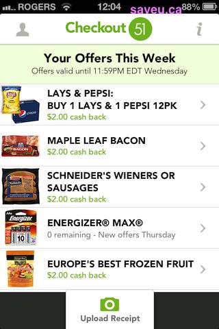 Checkout 51 No more cash rebates for Energizer MAX batteries May 23-29, 2013
