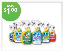 Clorox bottle smart tube technology Save $1.00 Printable Coupon