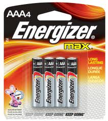 Energizer Max Batteries Checkout 51