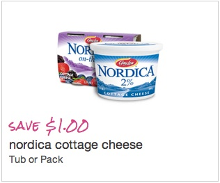 Nordica Cottage Cheese Coupon - Save $1.00