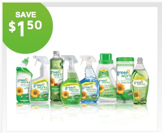 Printable Coupon Save $1.50 on Clorox Green Works Glass & Surface Cleaner