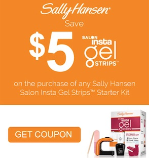 Sally Hansen Save $5 on Insta Gel Strips Coupon