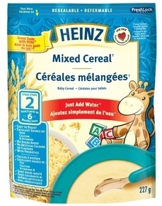 Save $1.50 on Heinz Baby Cereal with printable coupon from Smartsource.ca