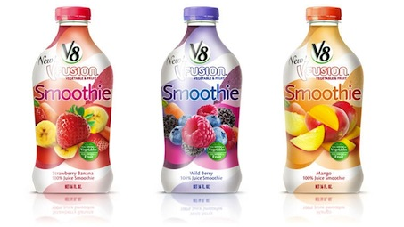 V8 V-Fusion Smoothie Checkout 51 Cash Rebate