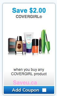 Covergirl Coupon Save $2.00 on Any Covergirl product