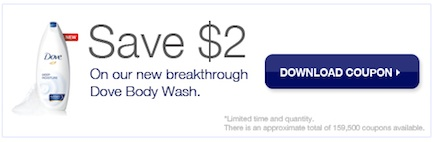 Dove Printable Coupon Save $2.00