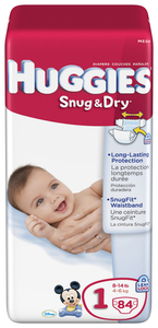 Huggies Snug & Dry Diapers Save $2