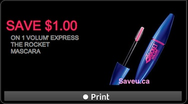 Maybelline Coupon - Save $1 on Maybelline Volum Express Mascara
