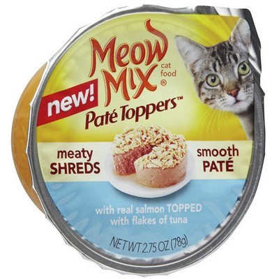 Meow Mix Pate Toppers Freebie Coupon