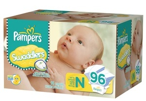 Save $2.00 on Pampers Swaddlers, Pampers Cruisers