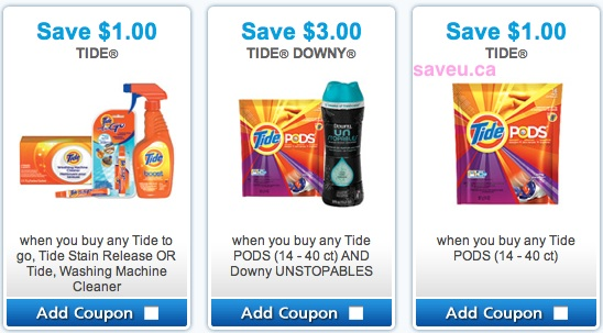 Tide coupons for June 2013 - Save $1.00, Save $2.00, Save $3.00 on Tide Detergent Products