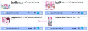Veet Coupons 2013 - Save $2-$3 on Veet Shaving Products