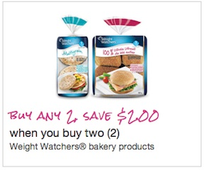 Weight Watchers Red Velvet Cake - Save $2.00 mailable coupon
