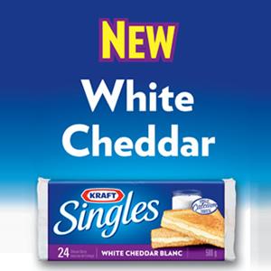 Kraft Singles White Cheddar Coupon