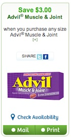 Advil NightTime Coupon - Save $3