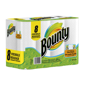 Bounty Coupon - Save $1 on Bounty Paper Towels or Bounty Napkins