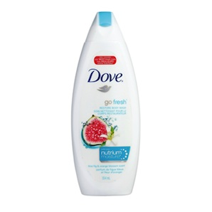 Dove go Fresh body wash promo