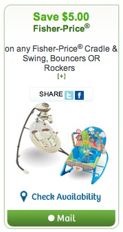 Fisher-Price Coupon - Save $5