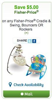 Fisher-Price Coupon - Save $5