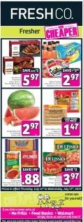 Freshco Flyer July 11-17, 2013