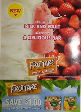 Fruttare Coupon Save $1 on a box of Fruttare Fruit Bars