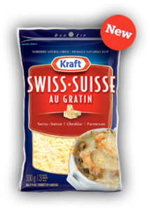 Kraft Au Gratin Shredded Cheese