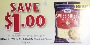 Kraft Au Gratin Coupon Save $1.00