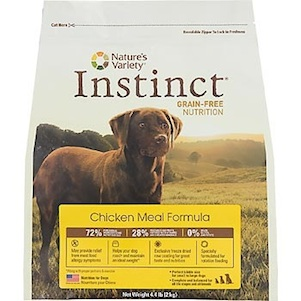 Nature's Variety Instinct Kibble or Instinct Raw