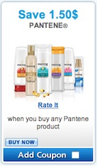 Pantene Coupon - Save $1.50 on any Pantene product