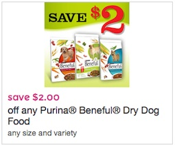 Purina Beneful Dry Dog Food Coupon - Save $2