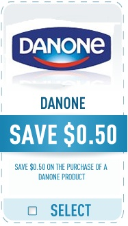 Danone Coupon - Save $0.50 on Danone yogurt