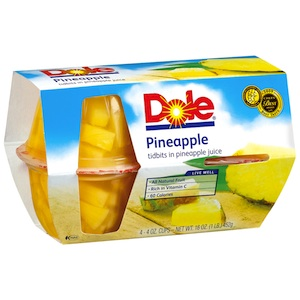 Dole Fruit Bowls Checkout 51 Cash Back
