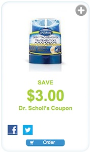 Dr. Scholls Coupon - Save $3 on skin tag remover