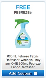 Febreeze Coupon - BOGO Febreeze Fabric Refresher